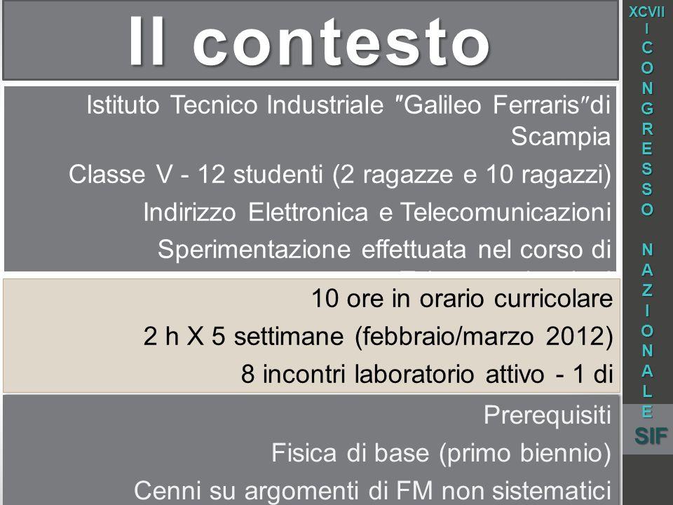 Il contesto Istituto Tecnico Industriale ″Galileo Ferraris″di Scampia