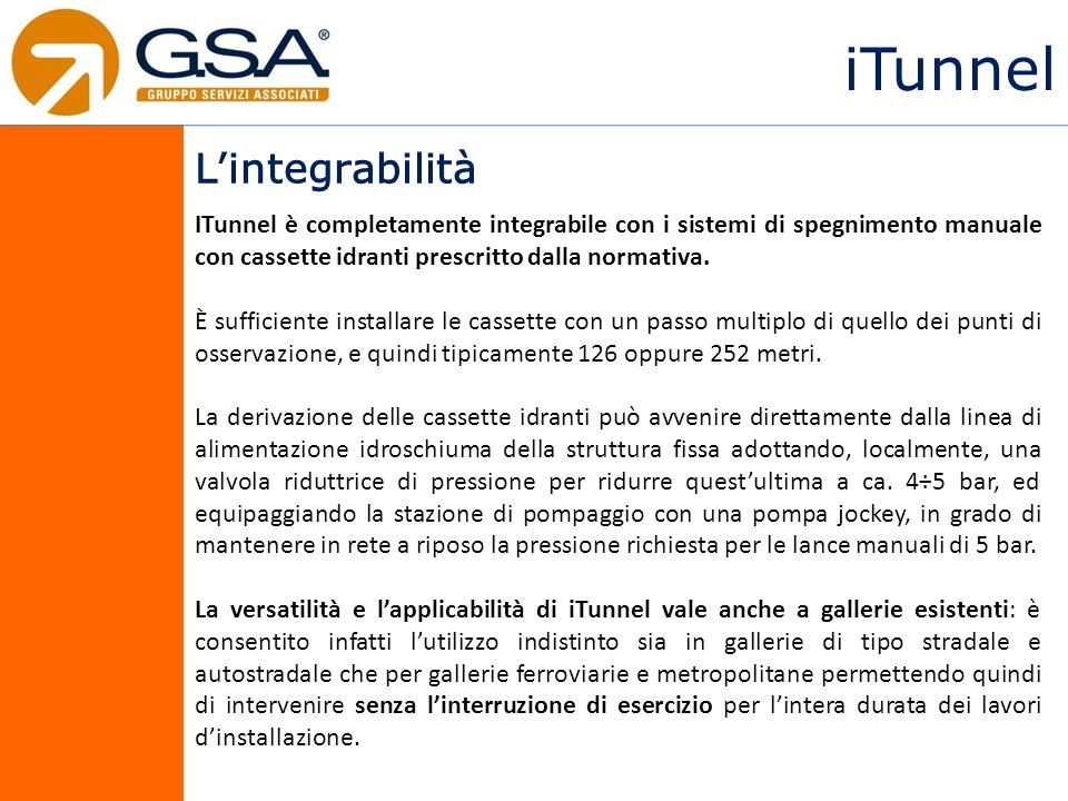 iTunnel L'integrabilità
