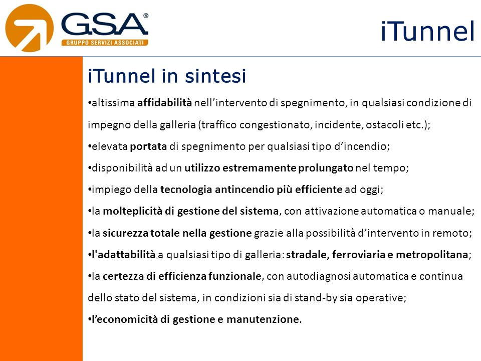 iTunnel iTunnel in sintesi