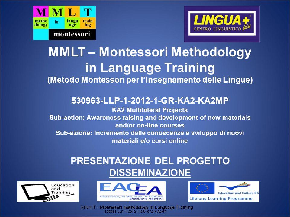 MMLT – Montessori Methodology in Language Training