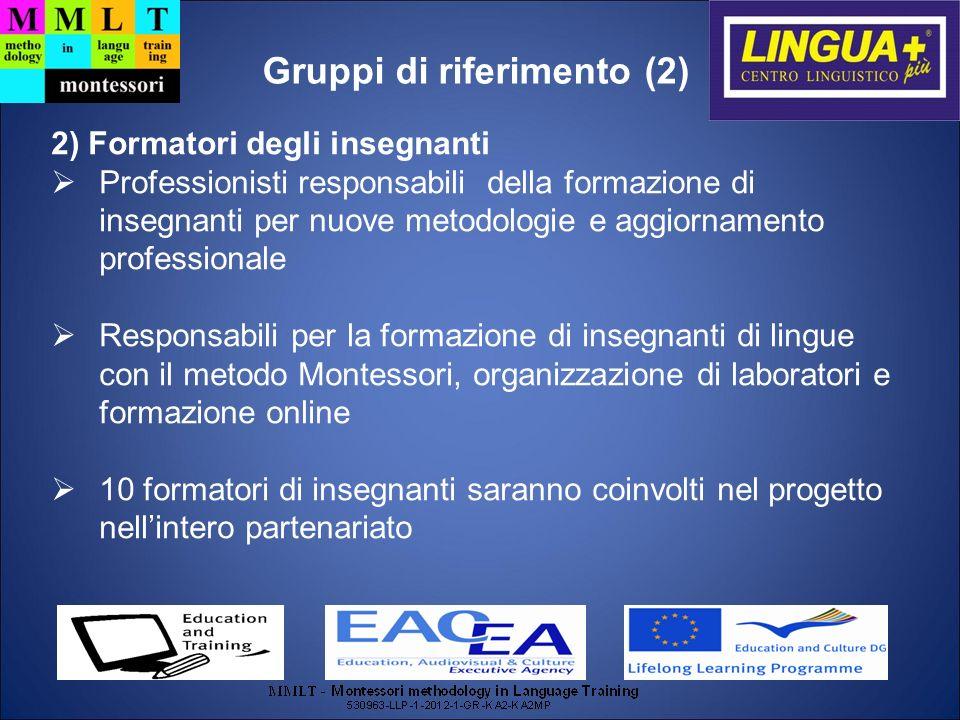 Gruppi di riferimento (2)