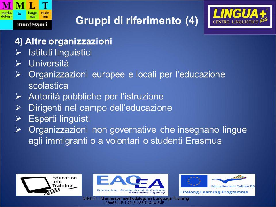 Gruppi di riferimento (4)