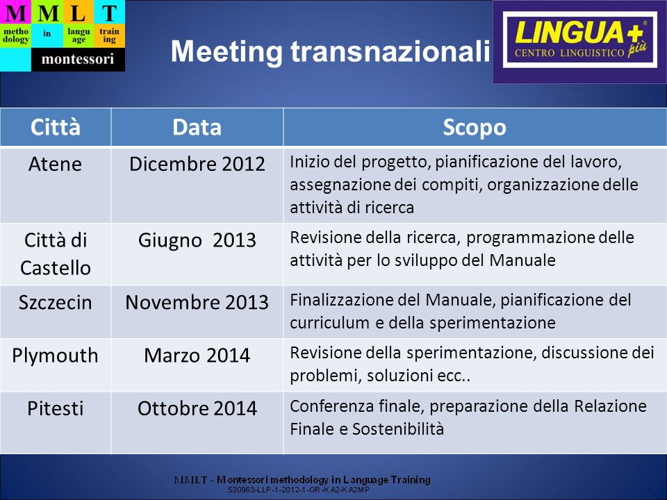 Meeting transnazionali