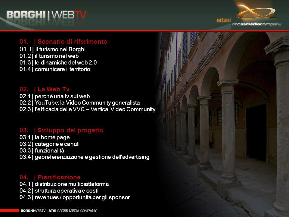 01. | Scenario di riferimento 01.1| il turismo nei Borghi