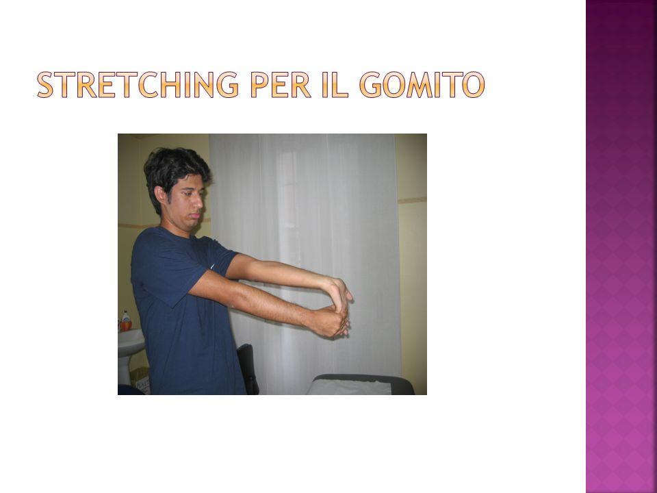 STRETCHING PER IL GOMITO