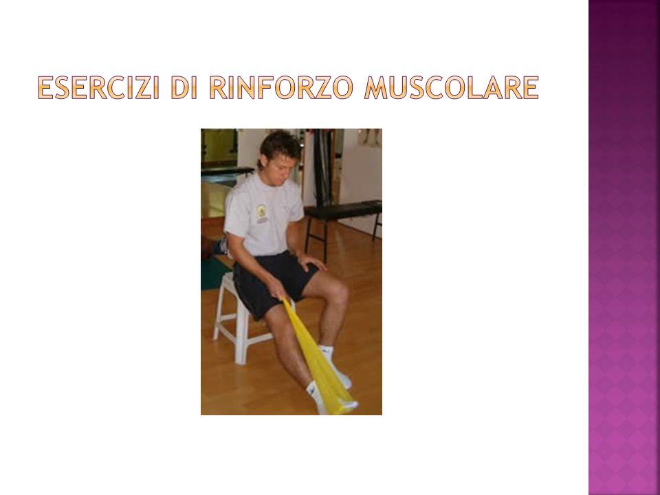 ESERCIZI DI RINFORZO muscolare