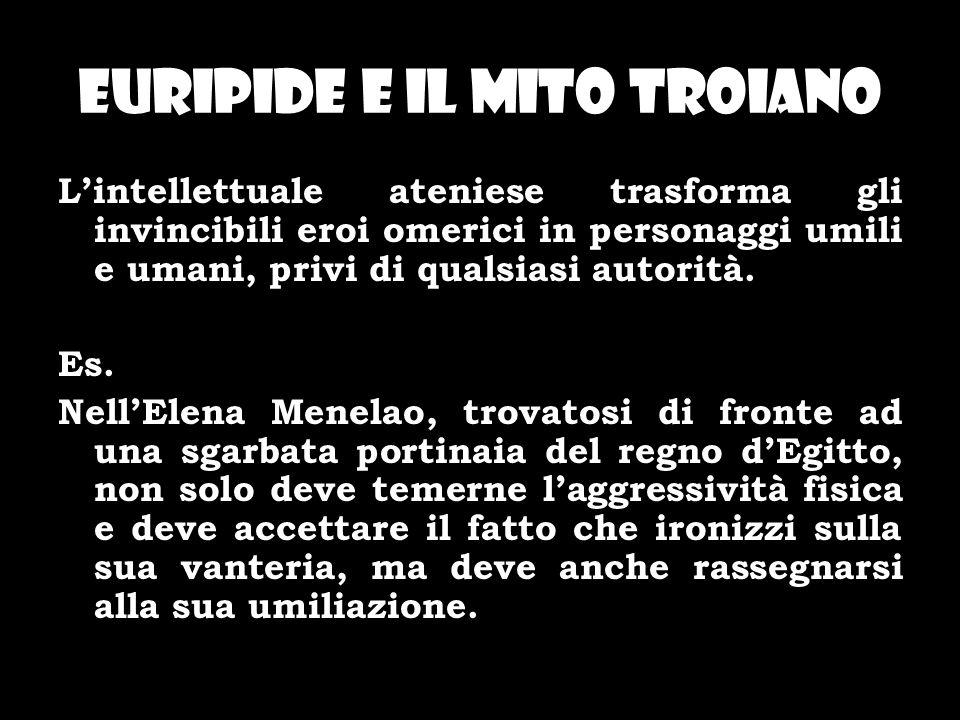 Euripide e il mito troiano