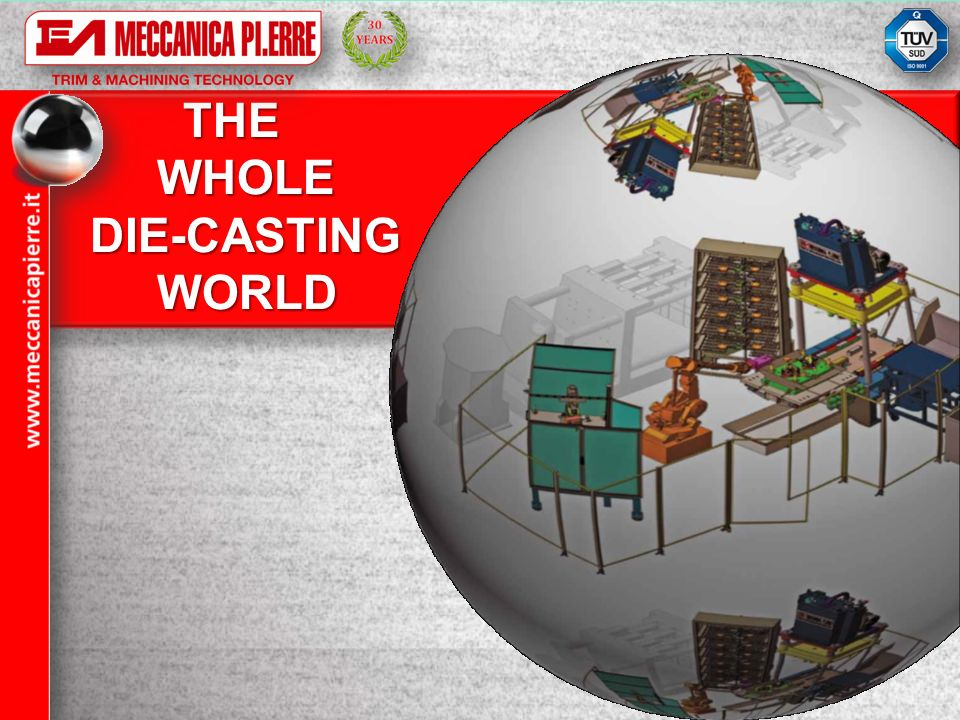THE WHOLE DIE-CASTING WORLD