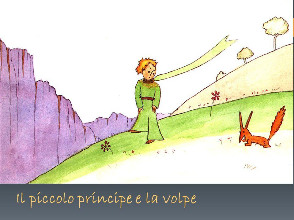 Il piccolo principe e la volpe