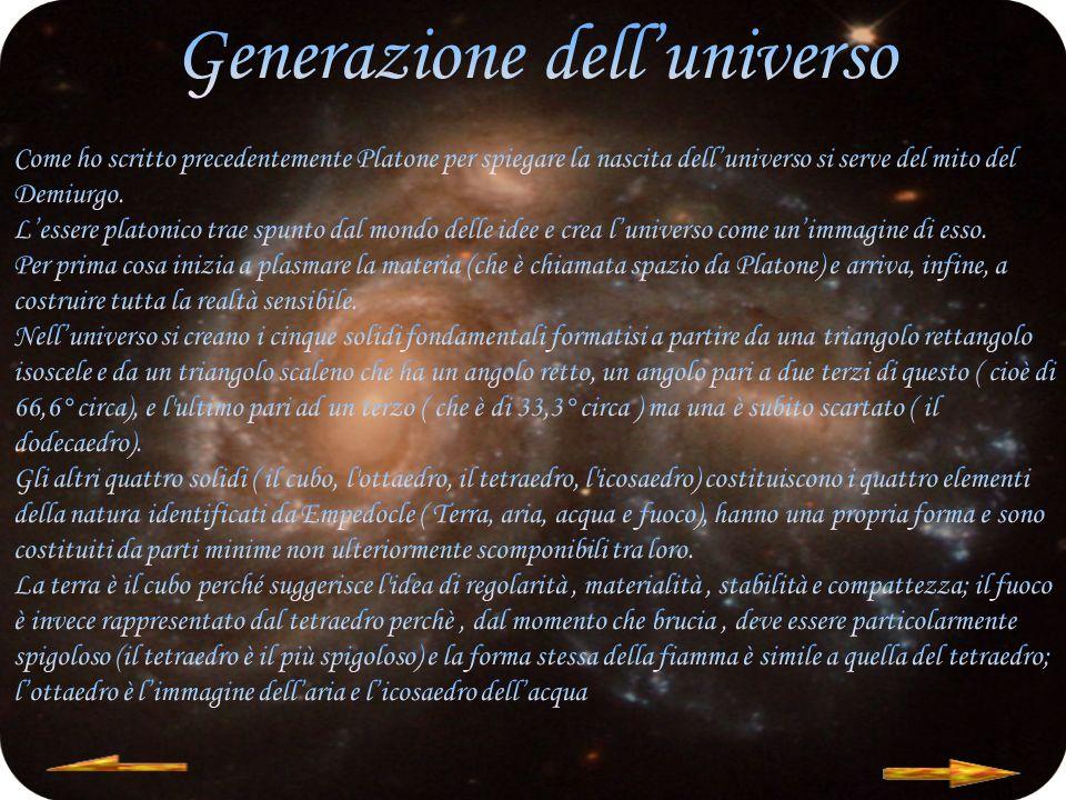 Generazione dell'universo