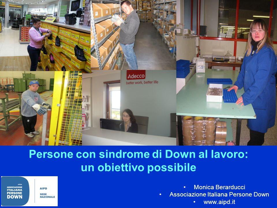 Persone con sindrome di Down al lavoro: un obiettivo possibile