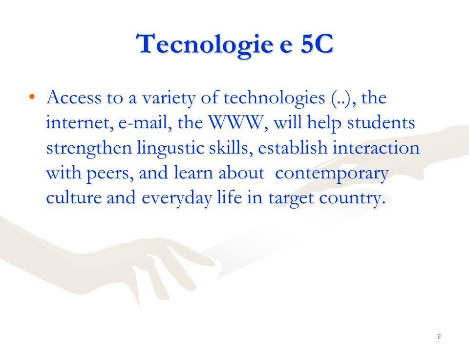 Tecnologie e 5C