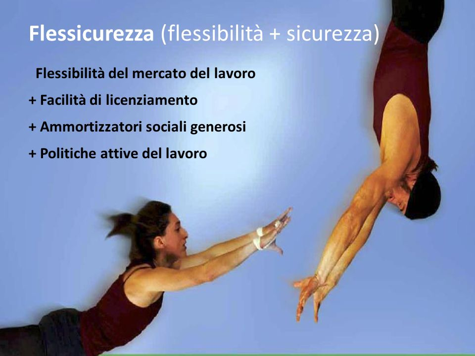 Flessicurezza (flessibilità + sicurezza)