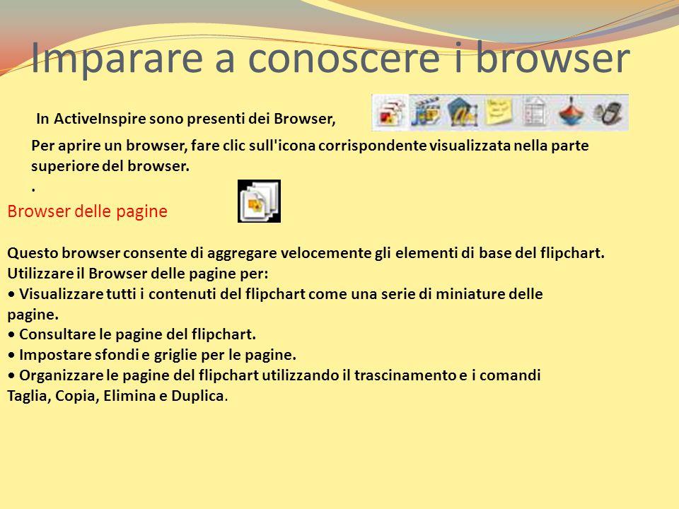 Imparare a conoscere i browser