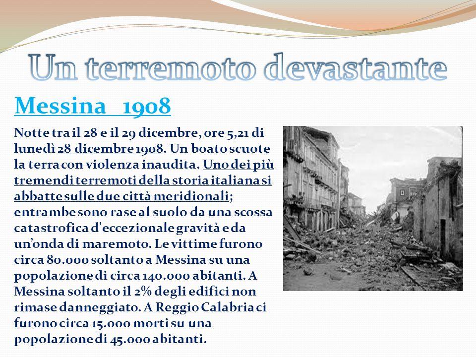 Un terremoto devastante
