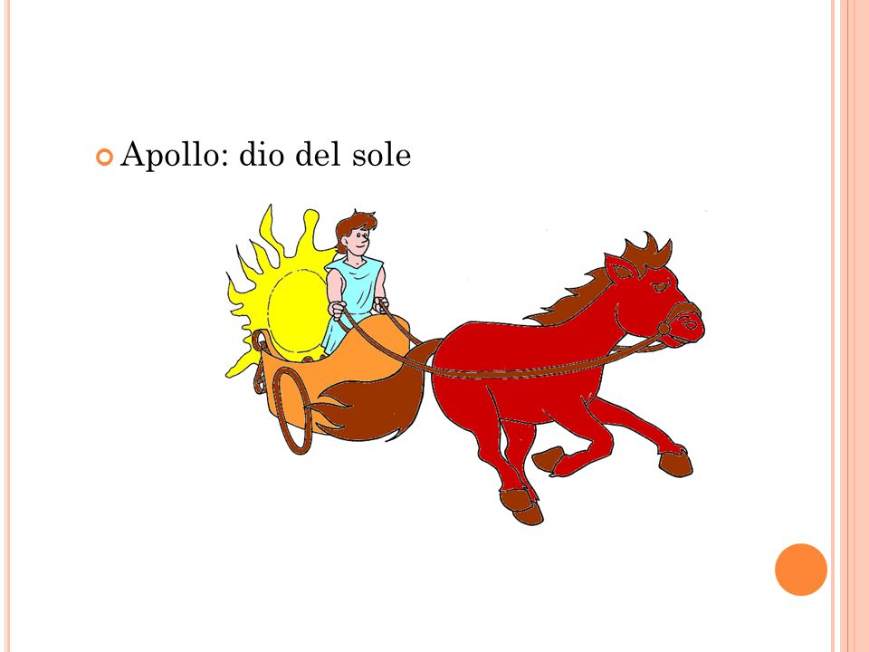 Apollo: dio del sole