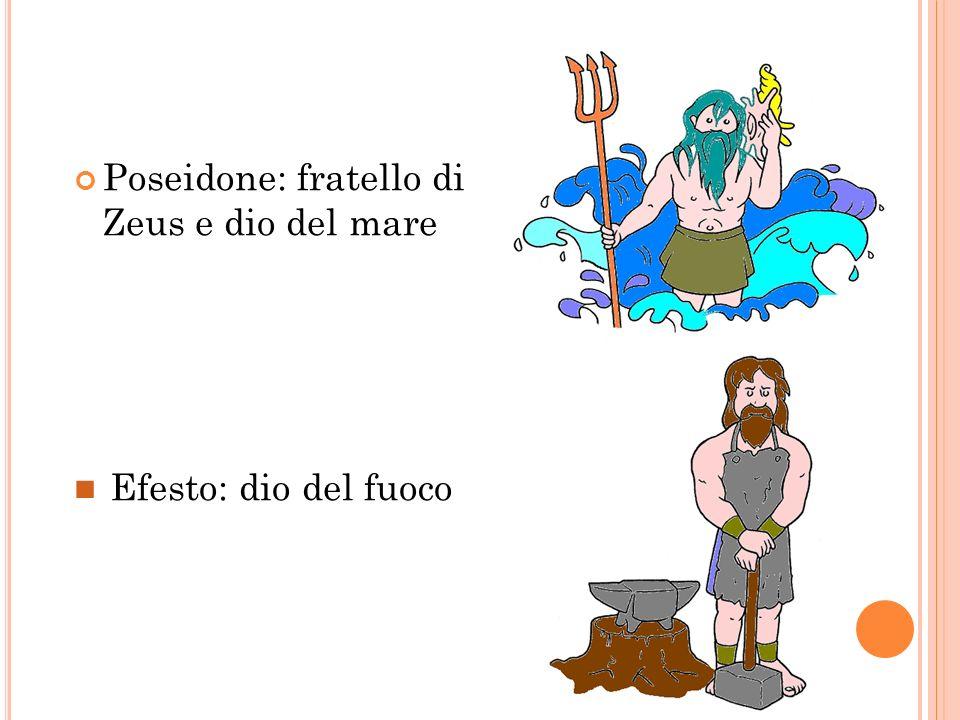 Poseidone: fratello di Zeus e dio del mare