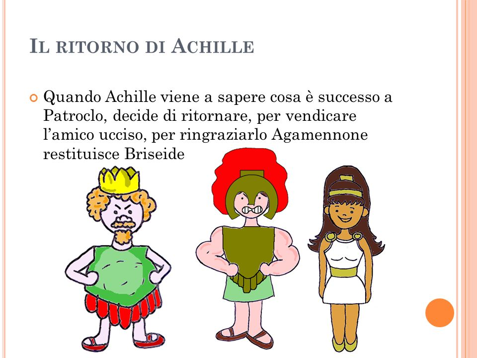 Il ritorno di Achille