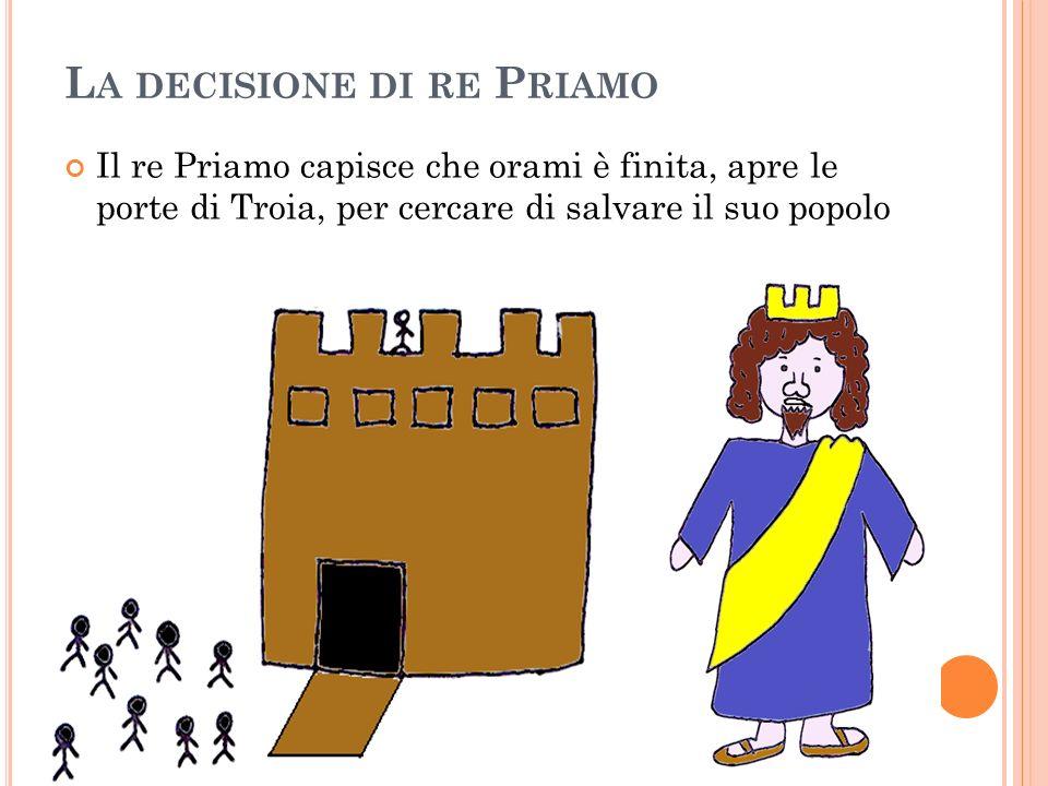 La decisione di re Priamo