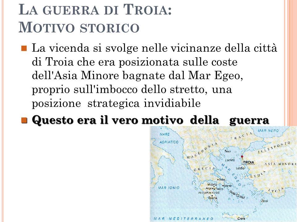 La guerra di Troia: Motivo storico