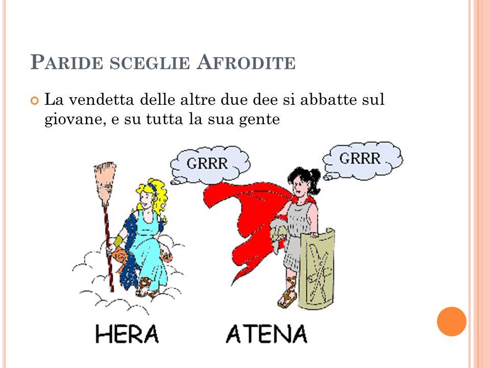 Paride sceglie Afrodite