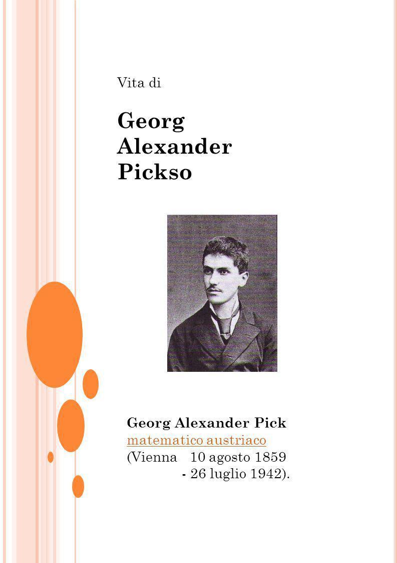 Georg Alexander Pickso