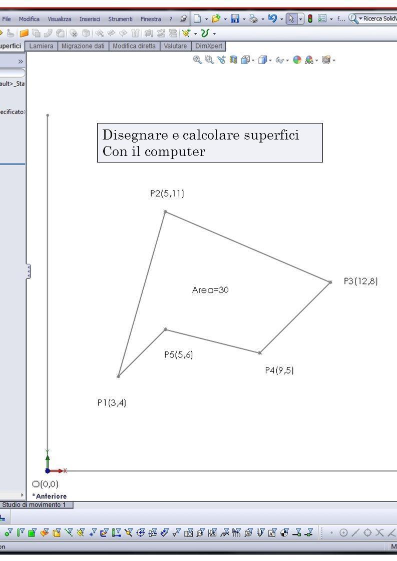 Disegnare e calcolare superfici