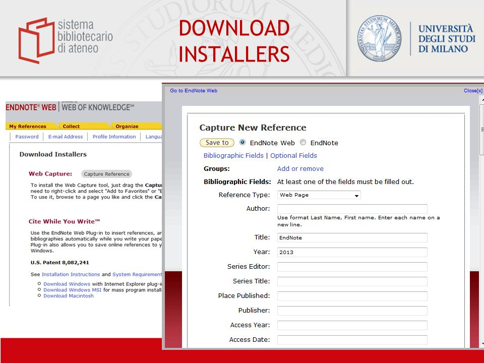 DOWNLOAD INSTALLERS