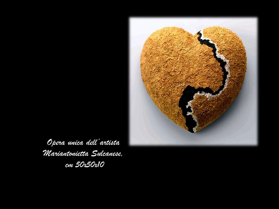 Opera unica dell'artista Mariantonietta Sulcanese,