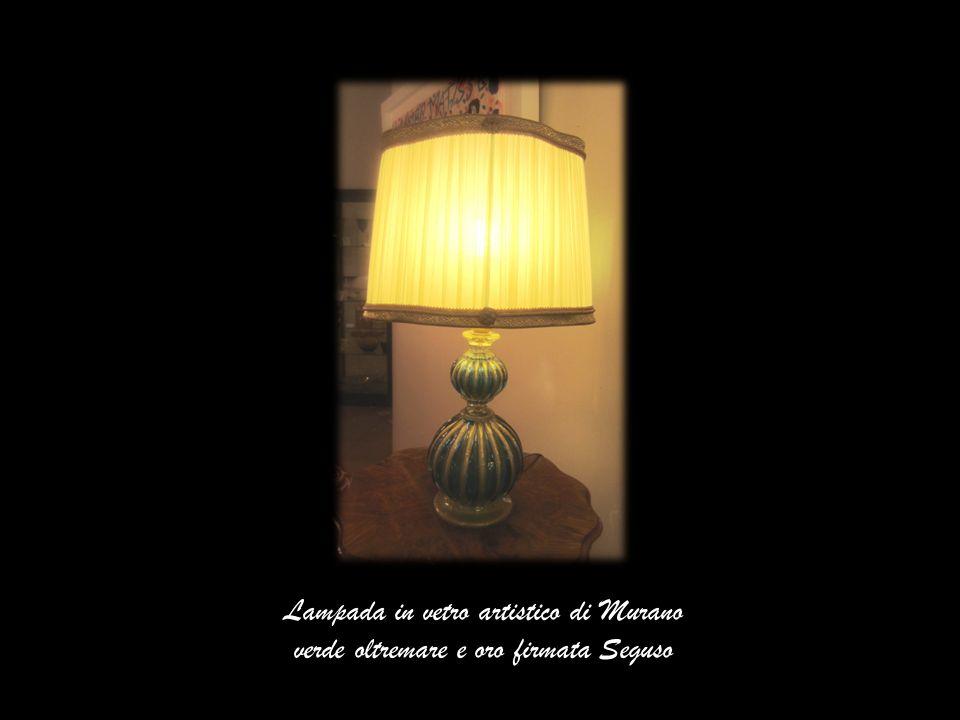Lampada in vetro artistico di Murano