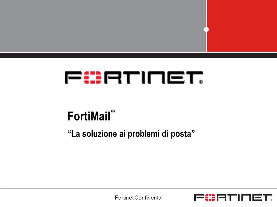 FortiMailTM La soluzione ai problemi di posta