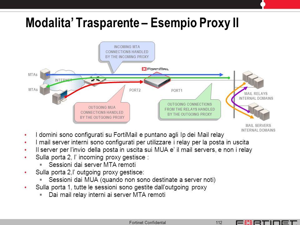 Modalita' Trasparente – Esempio Proxy II