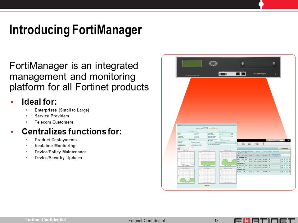 Introducing FortiManager