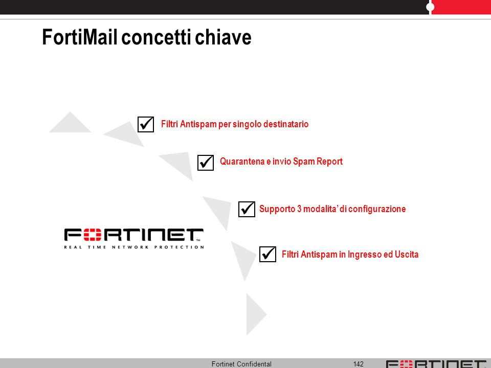 FortiMail concetti chiave
