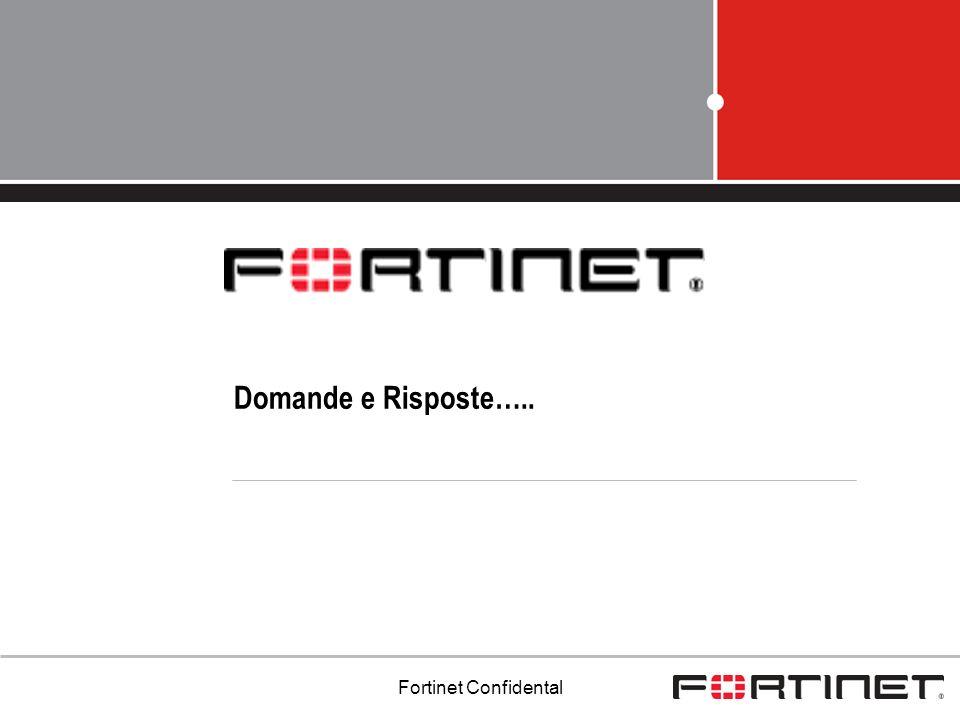 Domande e Risposte….. Fortinet Confidental