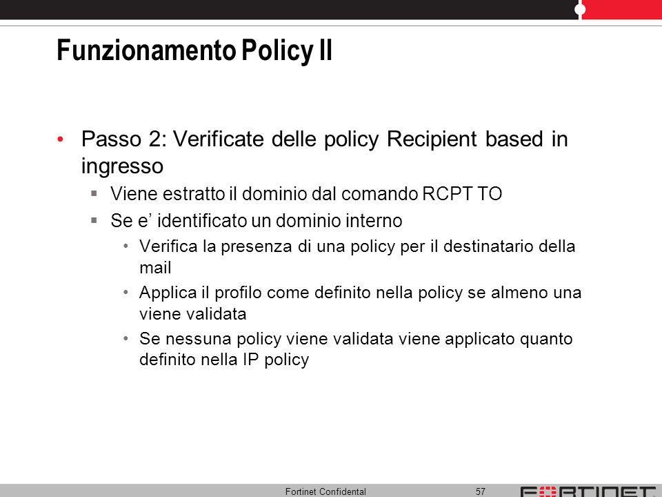 Funzionamento Policy II