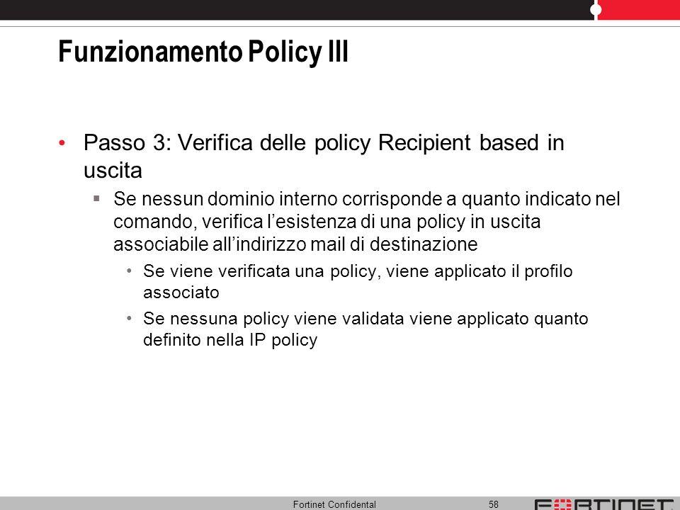 Funzionamento Policy III