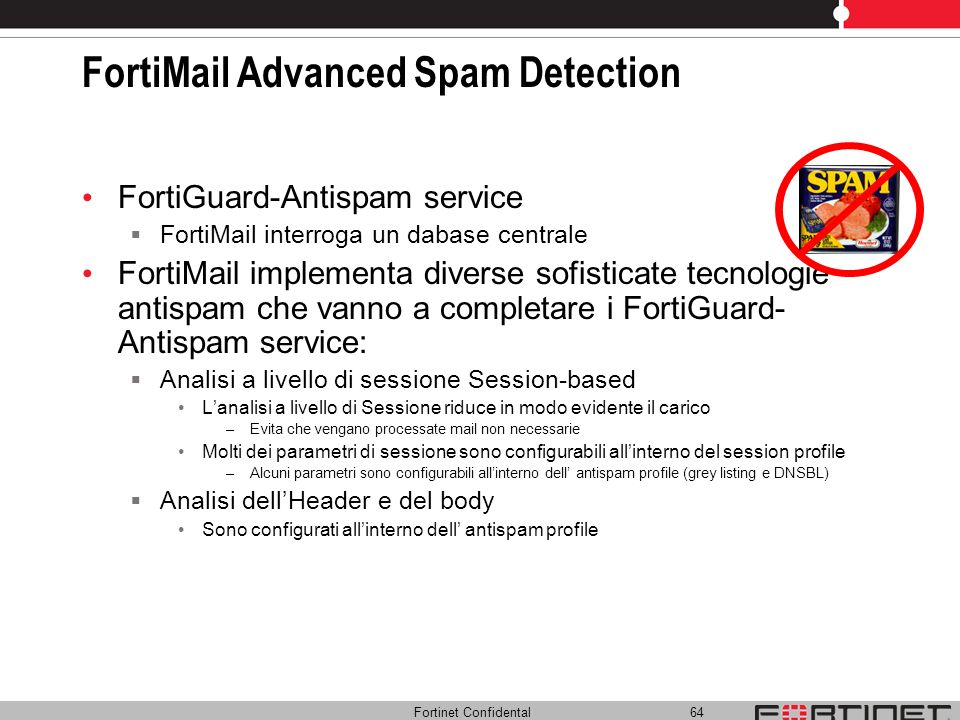 FortiMail Advanced Spam Detection