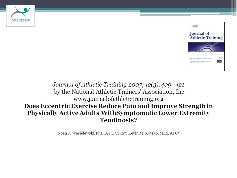 Journal of Athletic Training 2007;42(3):409–421