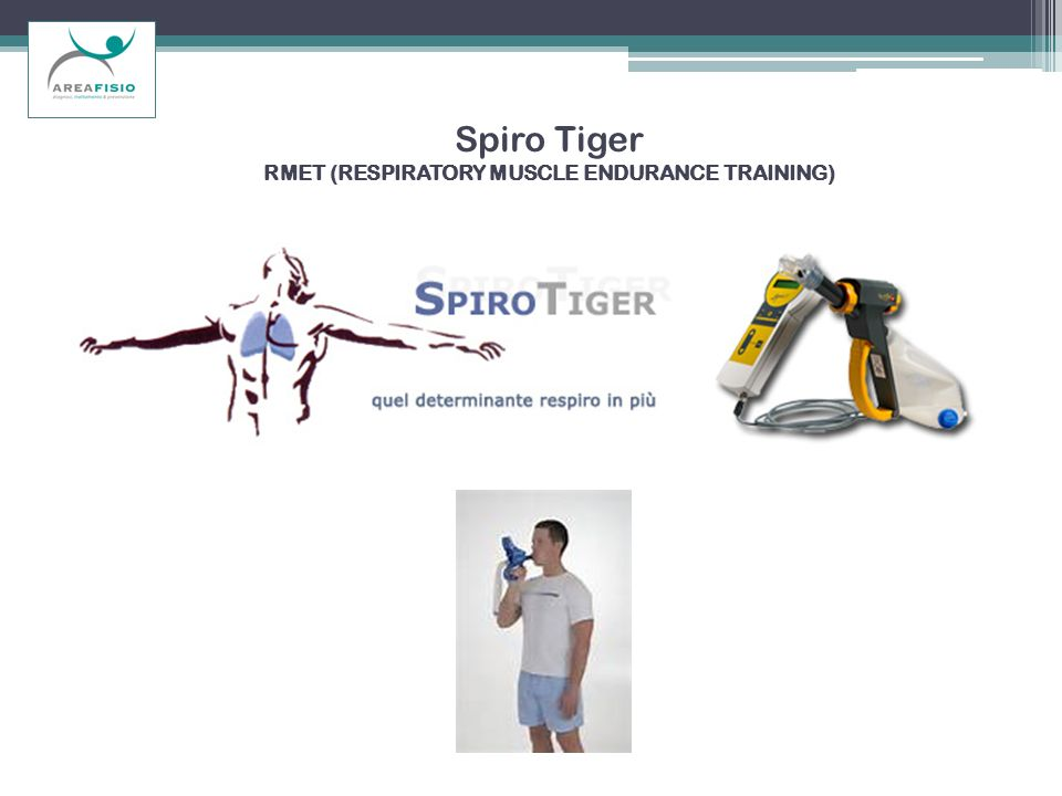 Spiro Tiger RMET (RESPIRATORY MUSCLE ENDURANCE TRAINING)