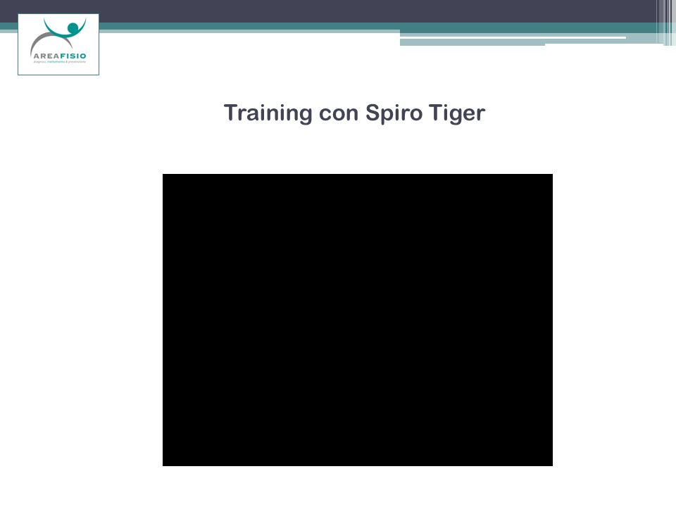 Training con Spiro Tiger