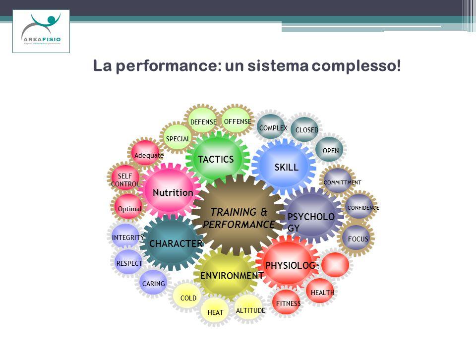 La performance: un sistema complesso!
