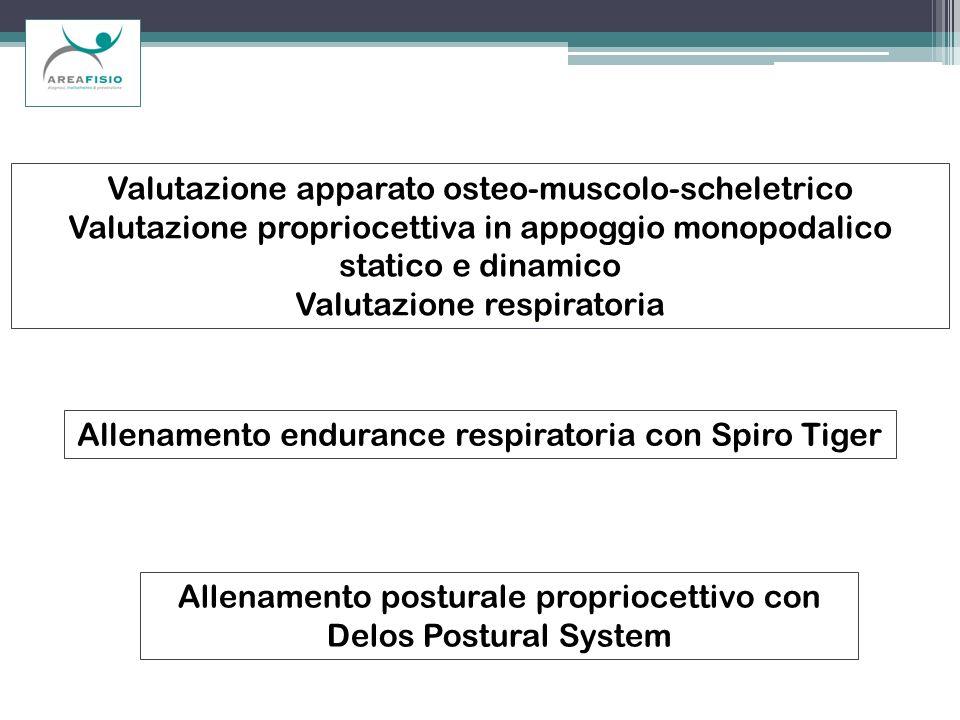 Valutazione apparato osteo-muscolo-scheletrico