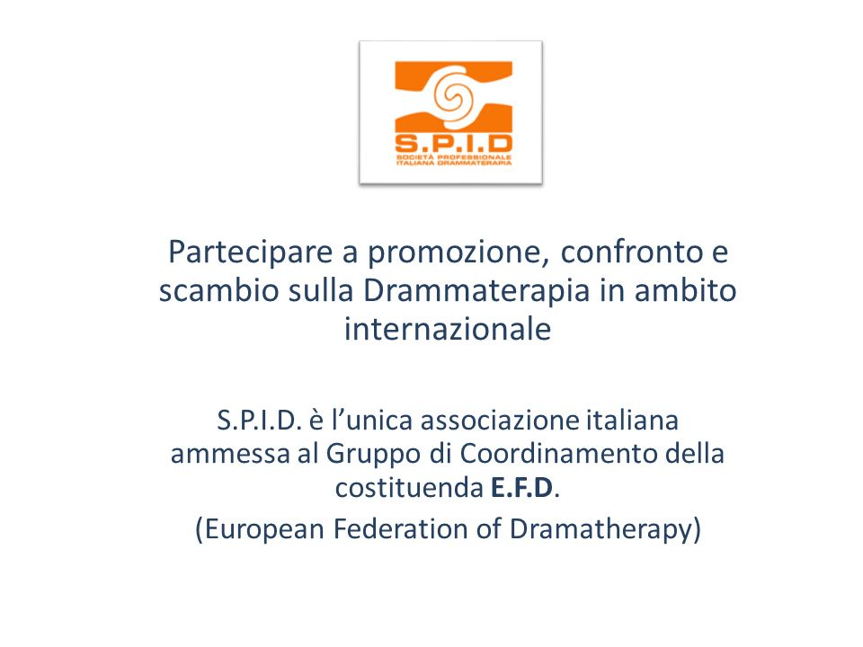 (European Federation of Dramatherapy)