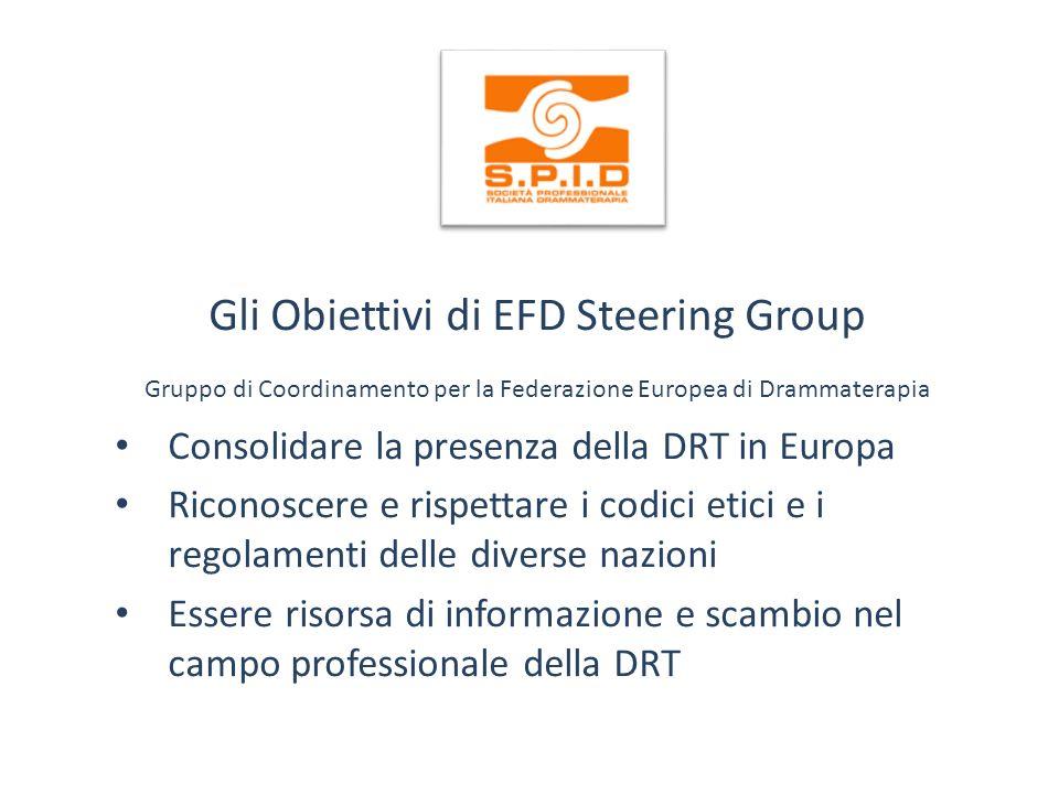 Gli Obiettivi di EFD Steering Group