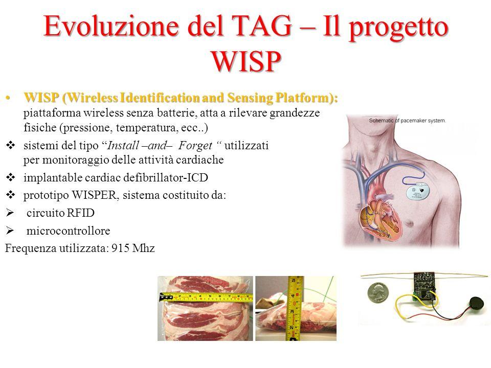 Evoluzione del TAG – Il progetto WISP