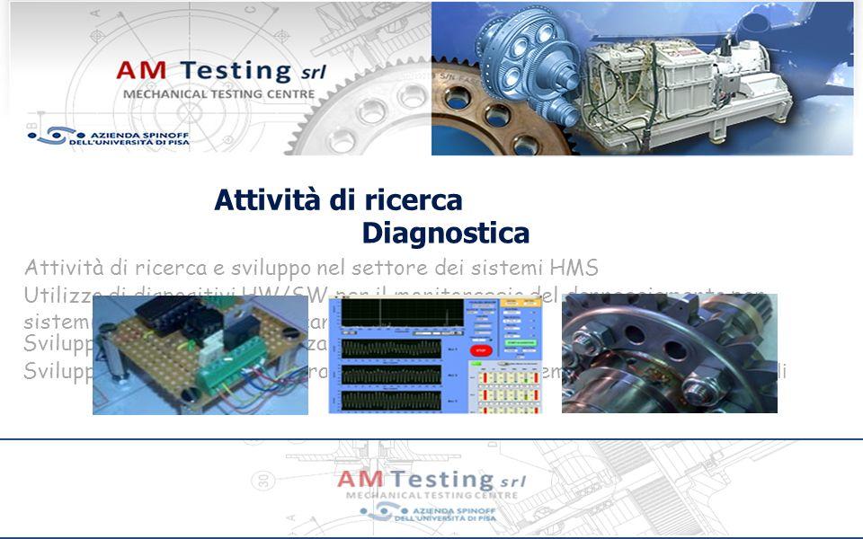 Attività di ricerca Diagnostica