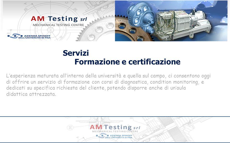 Formazione e certificazione