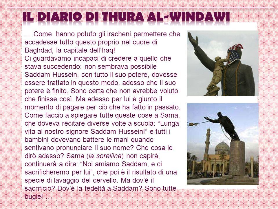 il diario di Thura Al-Windawi