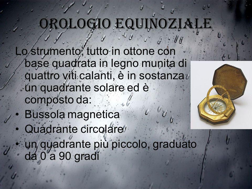 Orologio equinoziale